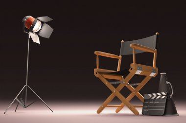 Lighting The Director chair