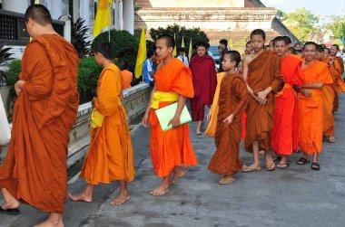 Chiang Mai,Thailand:Teenage Monks at Wat Chedi Luang