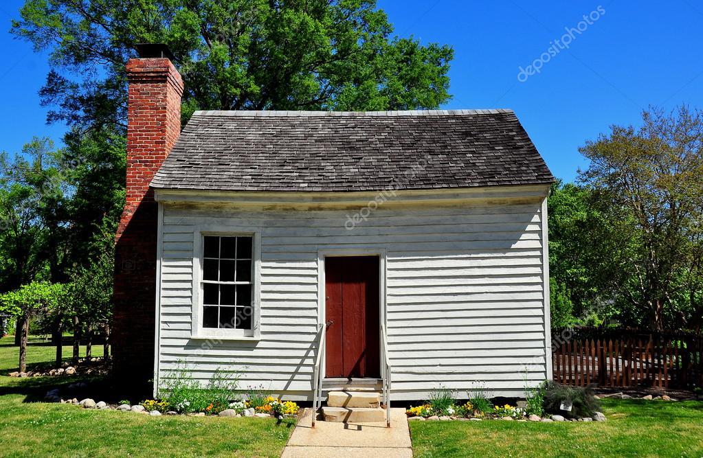 Raleigh, NC: Dependency House At Mordecai Plantation U2014 Stock Photo