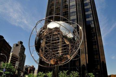 NYC: Unisphere Sculpture at Trump Hotel & Tower