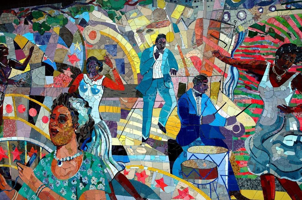 Nyc: north fork bank piastrella murale u2014 foto editoriale stock