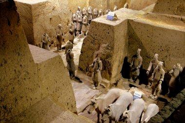 Xi'an, China: Museum of Terra Cotta Warriors