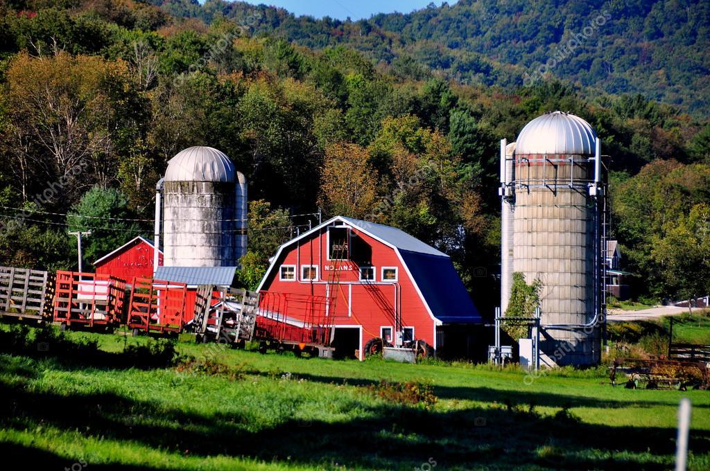 Ovest arlington vt fattoria di nolan foto editoriale for Piani di fattoria di 2000 piedi quadrati