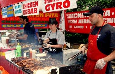 NYC: Food Vendors at Street Festival
