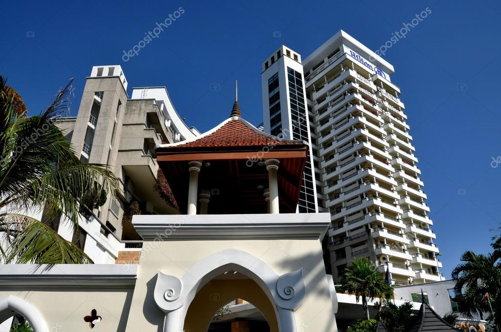 Hua Hin Thailand Hilton Hotel Resort Stock Editorial Photo