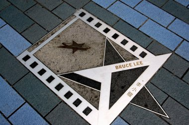 Hong Kong, China: Bruce Lee Star on Avenue of Stars