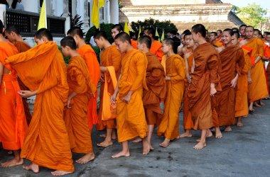 Chiang Mai, Thailand: Youthful Monks at Wat Chedi Luang