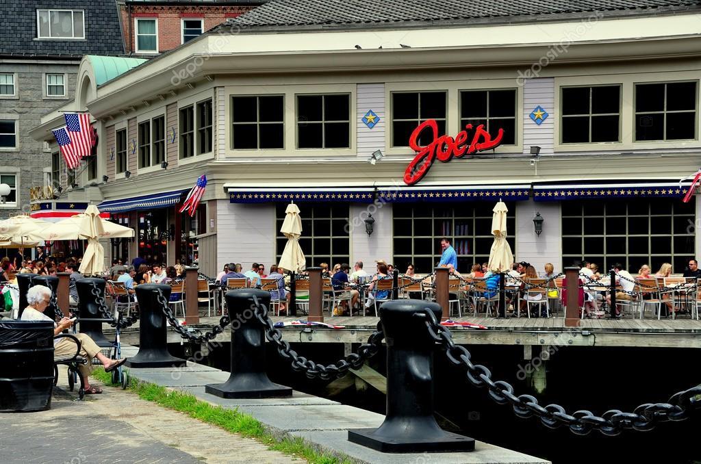 Boston Ma Joe S Seafood Restaurant Stock Editorial Photo