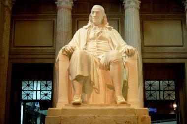 Philadelphia, PA: Benjamin Franklin Sculpture