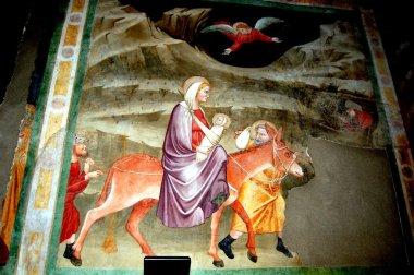 Bolzano, Italy: Wall Frescoes in Dominican Church