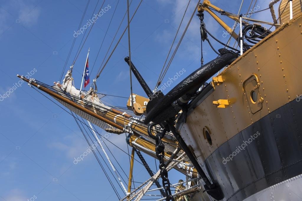 Schiff Amerigo Vespucci — Stockfoto © dkaubo #115827836