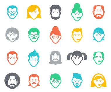 Avatar and people icons.