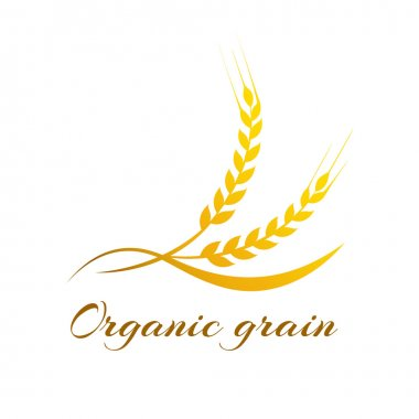 Wheat label - vector illustration