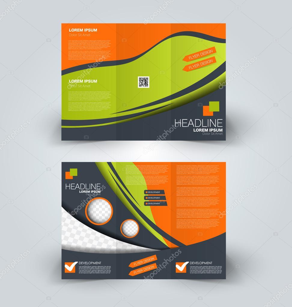 Broschüre mock-up Designvorlage für Wirtschaft, Bildung, Werbung ...