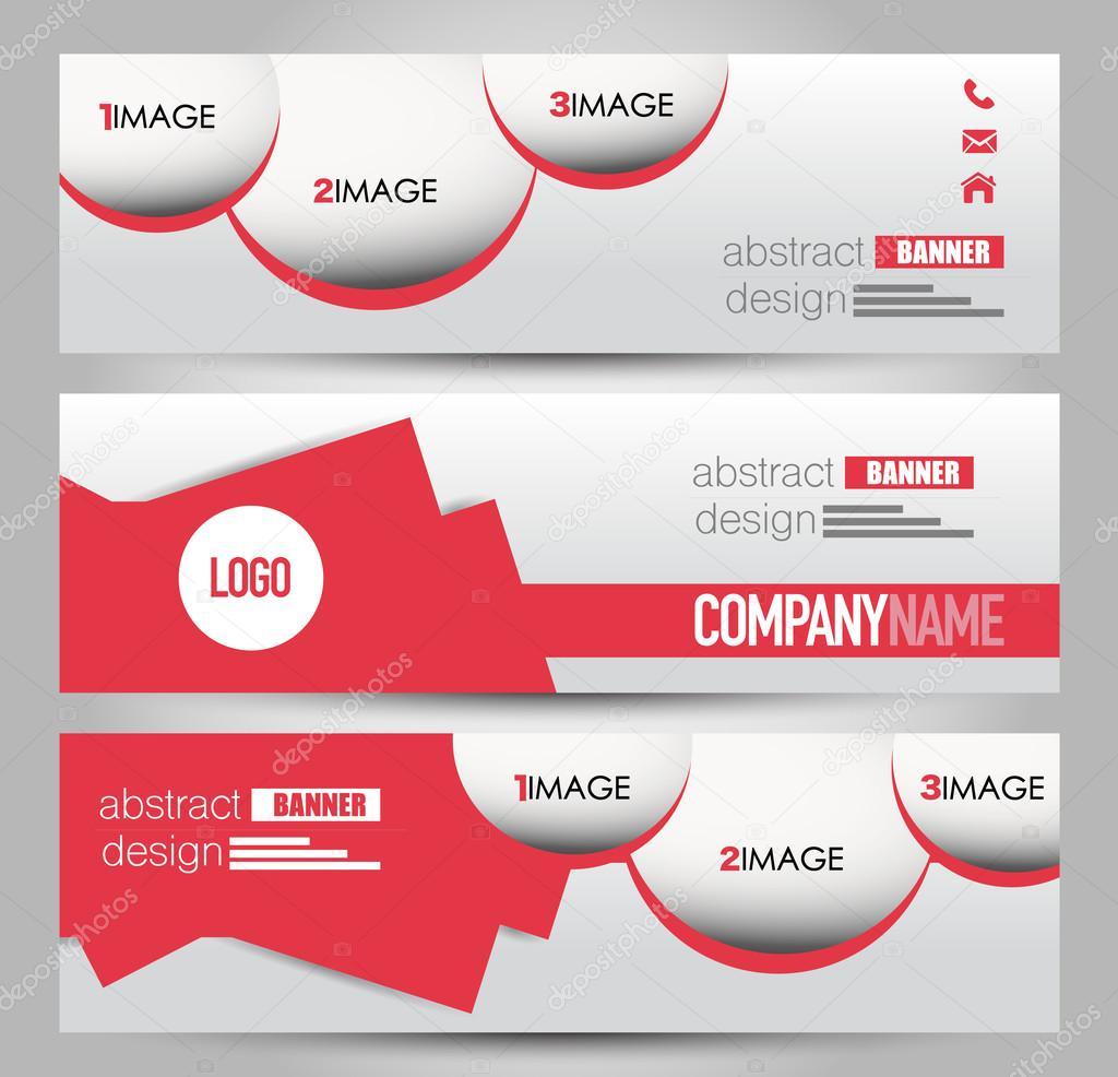 Banner-Vorlage. Zusammenfassung Hintergrund für Design, Wirtschaft ...
