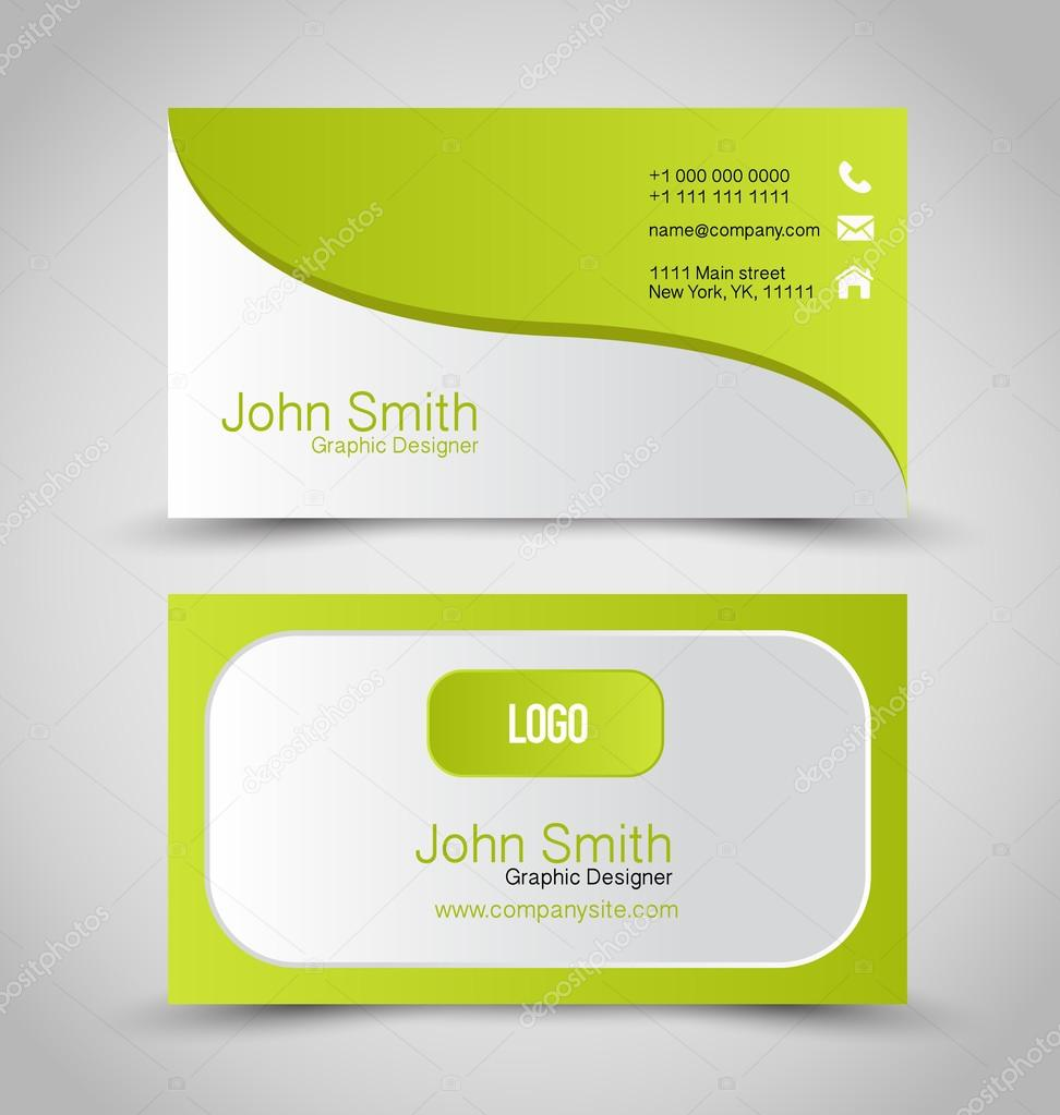 Business card Stock Vectors, Royalty Free Business card ...
