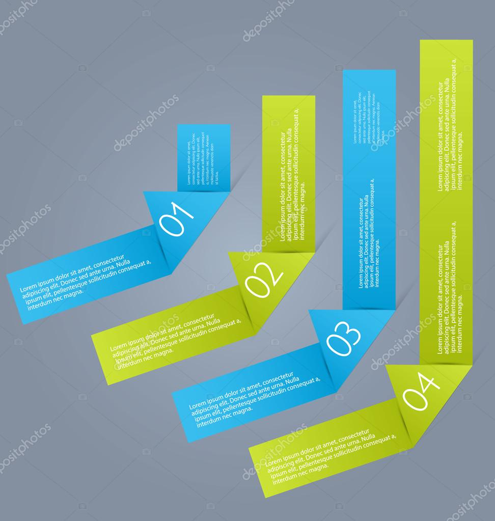 Business-Infografiken Vorlage für Präsentation, Bildung, Web-Design ...