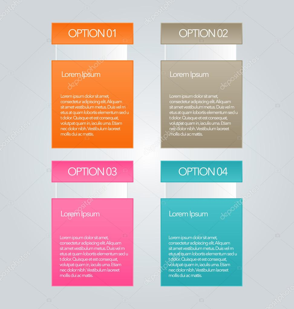 infographic template with step options for business startup concept