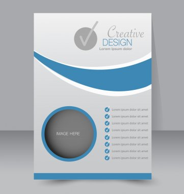 Business Flyer, brochure, poster template
