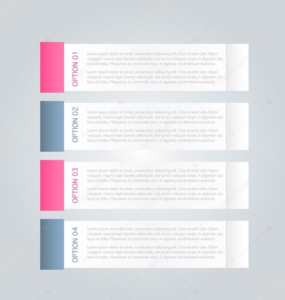 Geschäft, Präsentation Infografiken Vorlage — Stockvektor © Milana88 ...