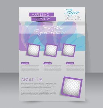 brochure, flyer, poster template