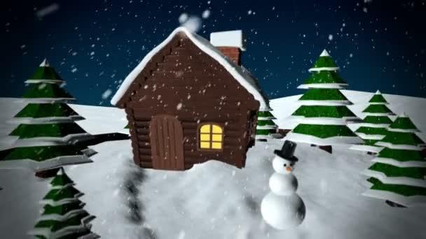 karácsonyi hógömb