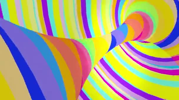 Color VJ tunnel background.
