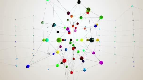 Struktura sítě. Smyčky animace.