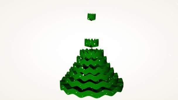 vánoční stromeček animace