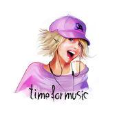 ragazza ascoltando musica