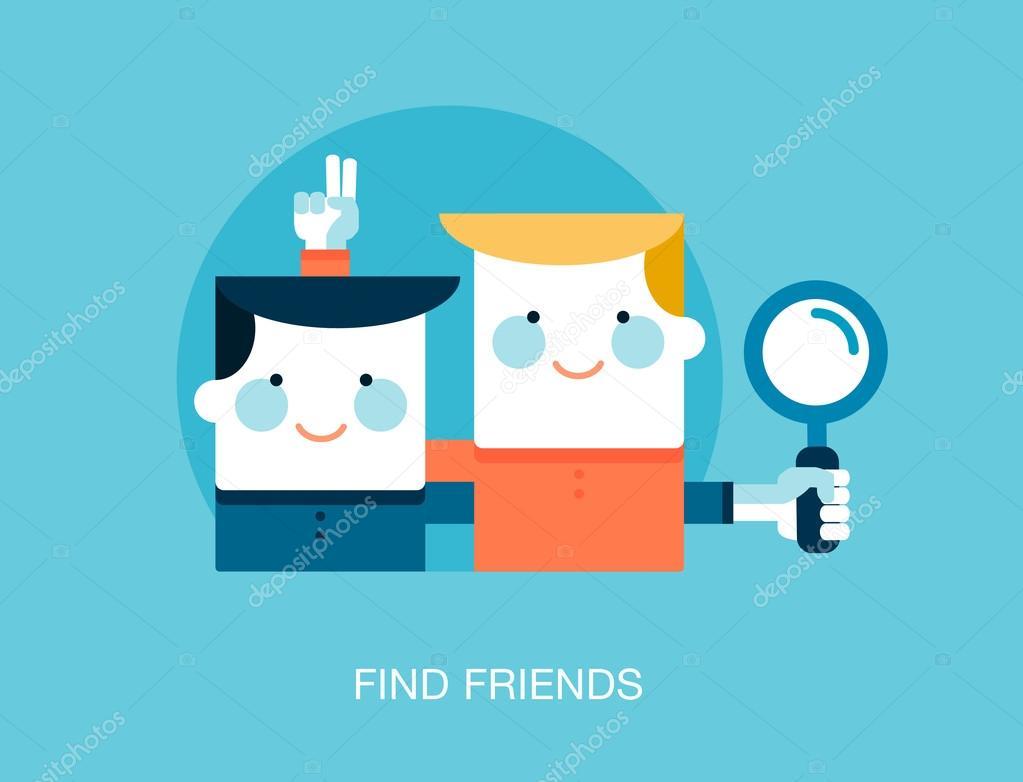 Online Dating söker vänner
