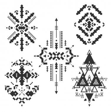 Vector Tribal elements