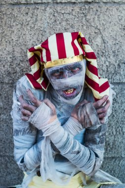 Portrait of a mummy