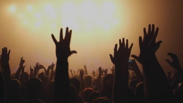 Spousta lidí na koncertě