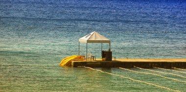 Beach Shelter on Pier