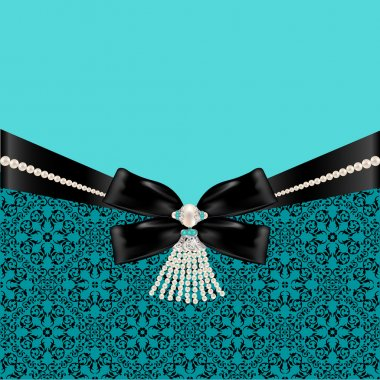 Pattern with bow