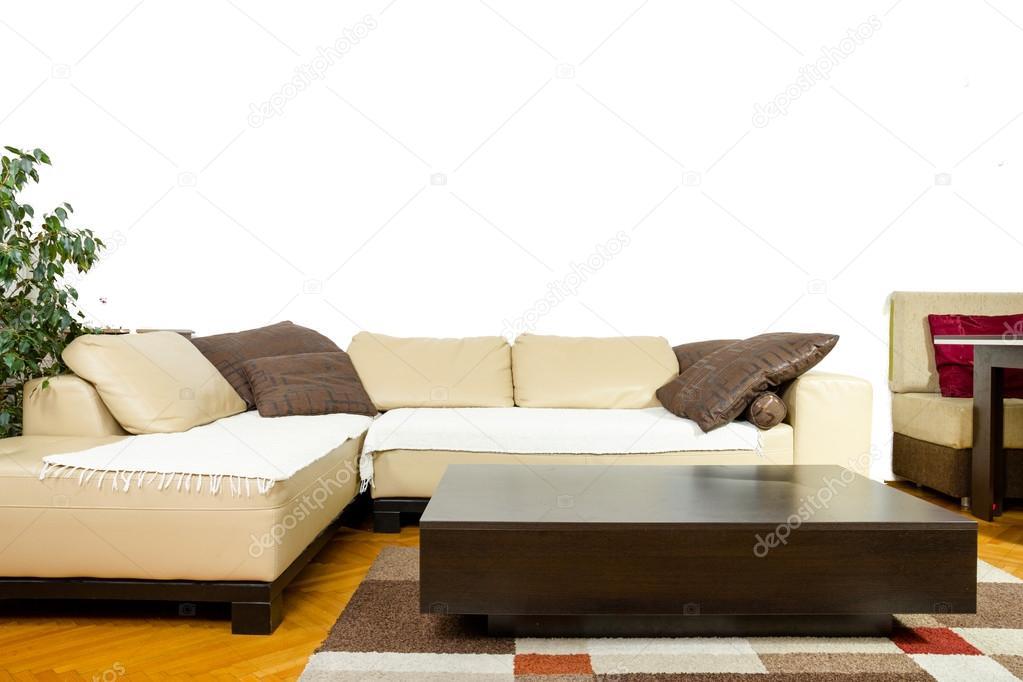 Interieur Im Modernen Und Klassischen Design, Freundliche Möbel Layout U2014  Stockfoto