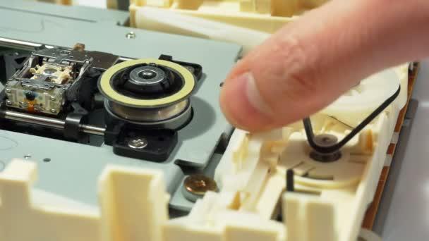 Optical drive mechanism demonstration 02