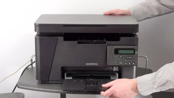 Nastavení tiskárny úřadu