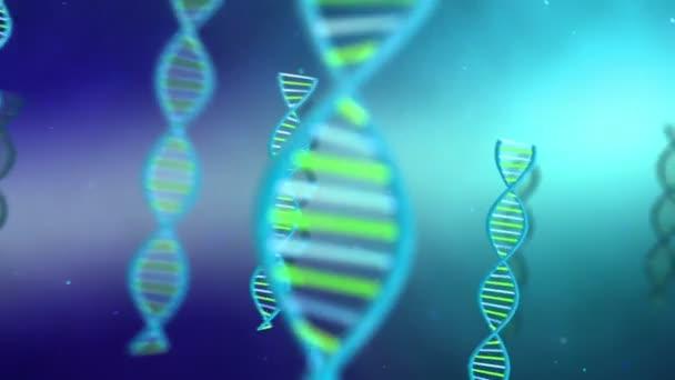 DNA struktura modelu spirála full hd