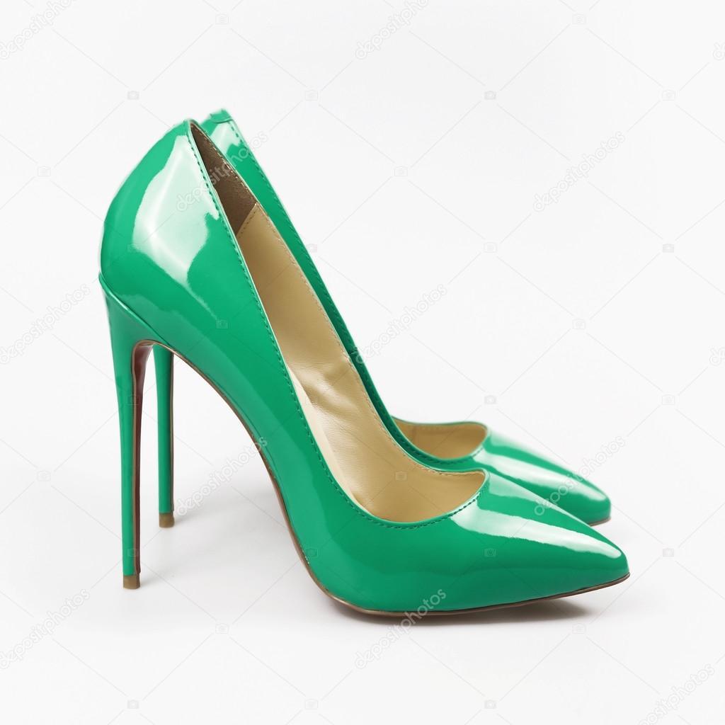 Туфлі модельні жіночі — Стокове фото — Грін © Martyna1802  116521694 2ad83a0ce65ad