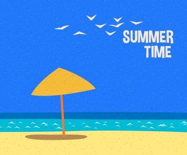 summertime holidays card
