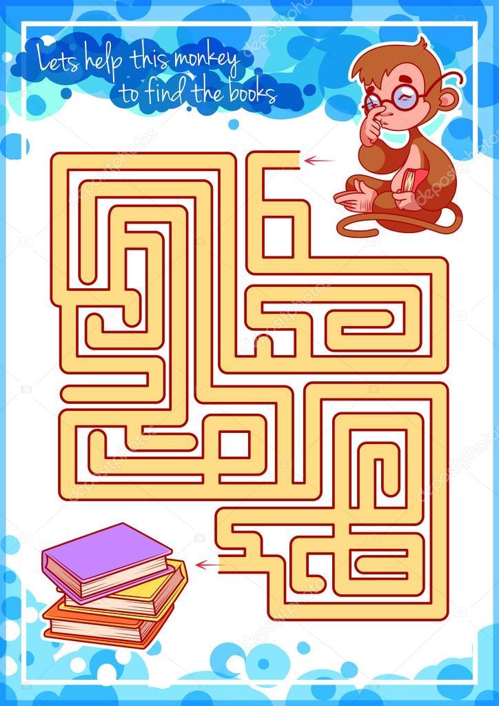 Juegos De Laberintos Para Ninos Inteligentes Laberinto Juego Para