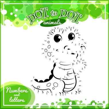 Educational game for kids: Dot to Dot.