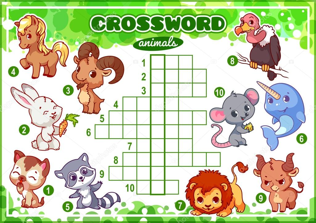 Lovely Crossword Puzzle Help Tall Crossword Puzzles For Seniors Round Fun Puzzle Games Make Your Own Puzzle Young Personalized Stool Puzzle DarkPuzzles And Dragons Guide Educational Game For Kids. Word Puzzle. \u2014 Stock Vector © Yavi ..