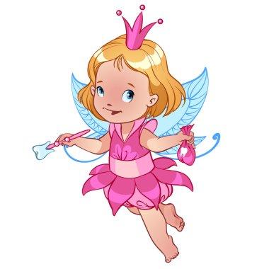 Little cute Tooth Fairy