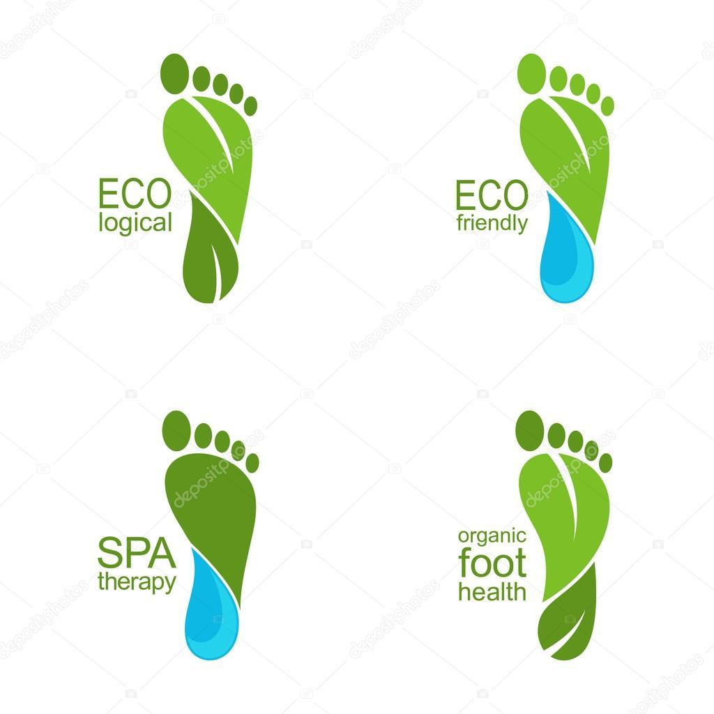 Go Green feet