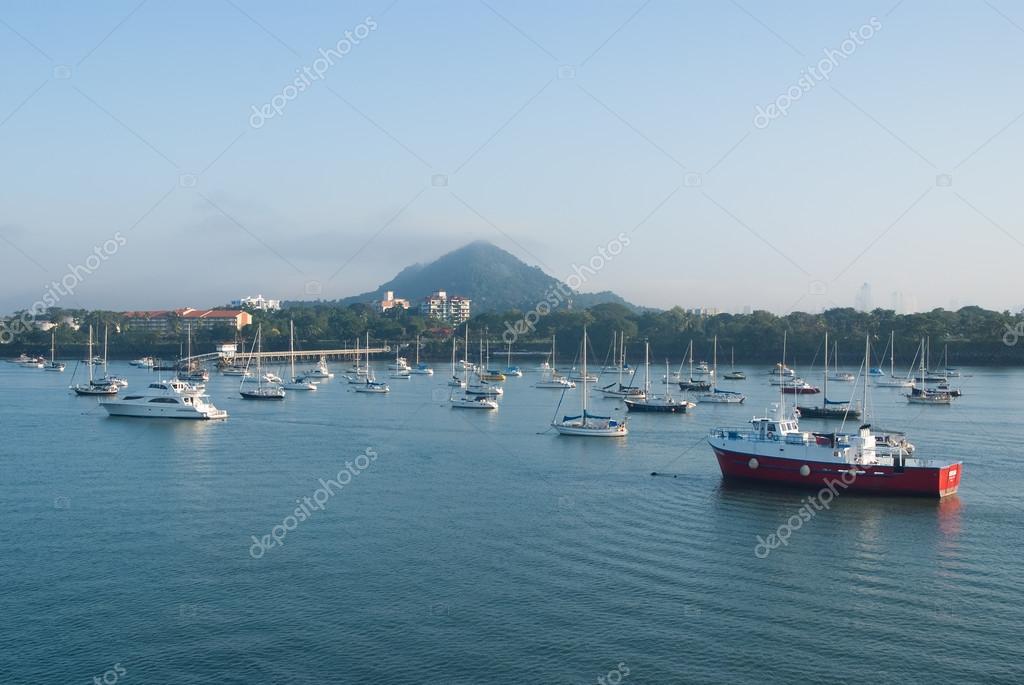 Panama City harbor