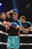 Ranking fight between Denis Berinchyk (Ukraine) and Belgian Tarik Madni in the Palace of sport in Kiev, Ukraine