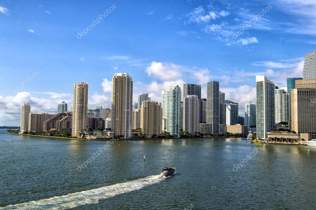 Beautiful Miami landscape